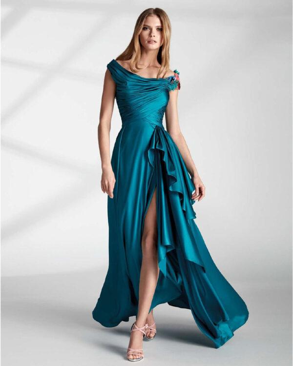 vestido de fiesta hannibal laguna ALBANUS