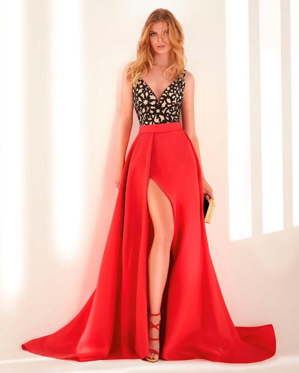 vestido de fiesta hannibal laguna WEBER