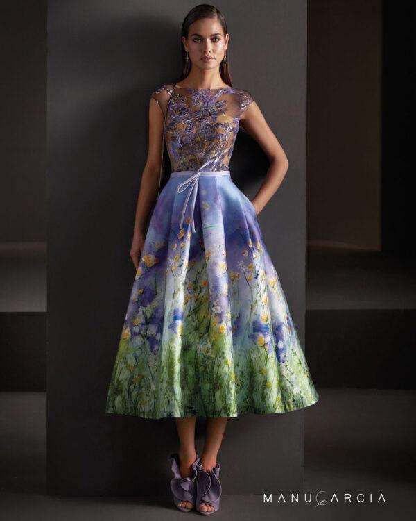 vestido de fiesta manu garcia MG3100