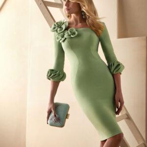 vestido de fiesta valerio luna VL5012