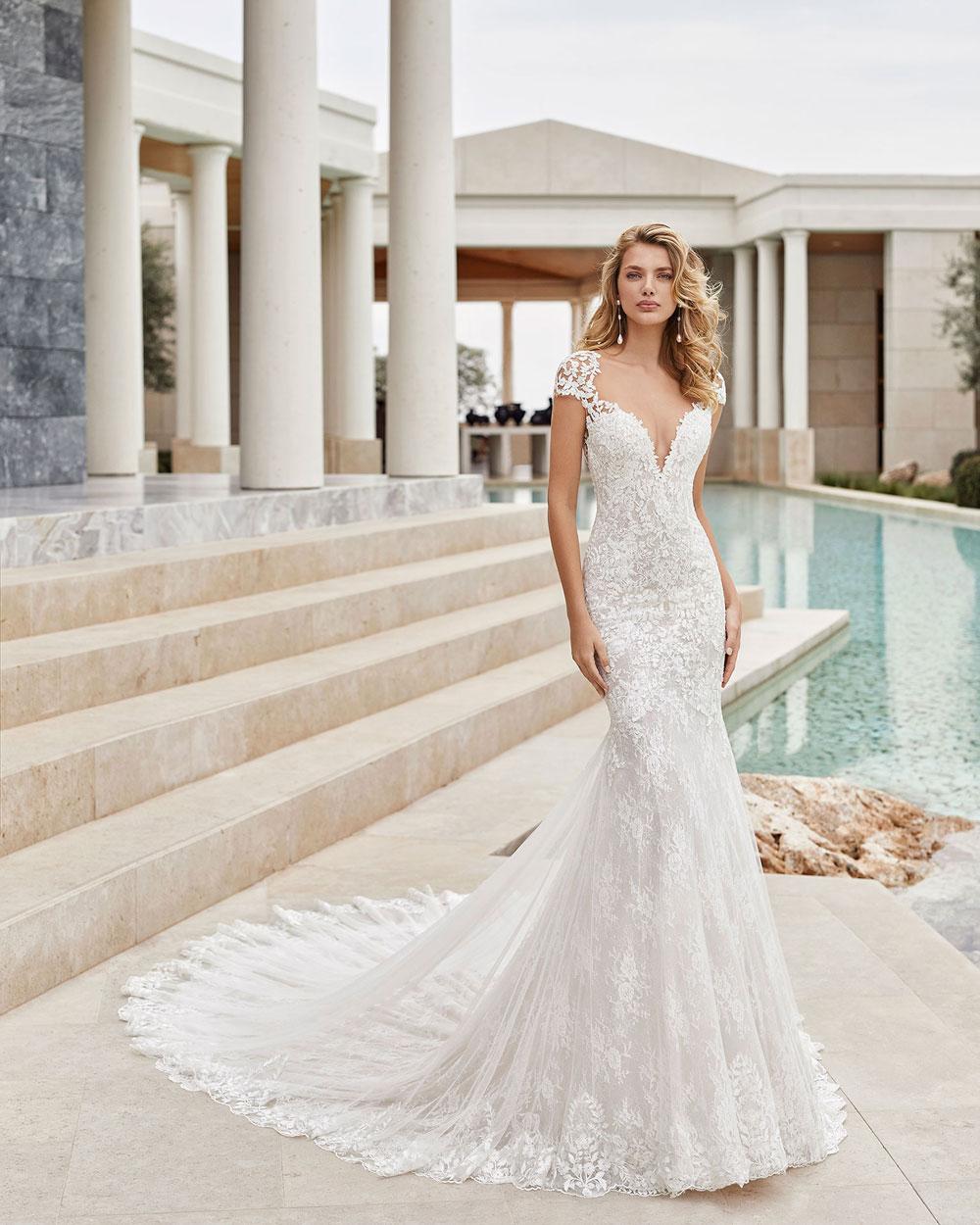 vestido de novia 2021 SAMUEL ROSA CLARA COUTURE 2