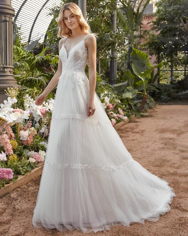 vestido de novia san patrick aralia