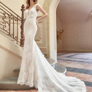 vestido de novia san patrick coral