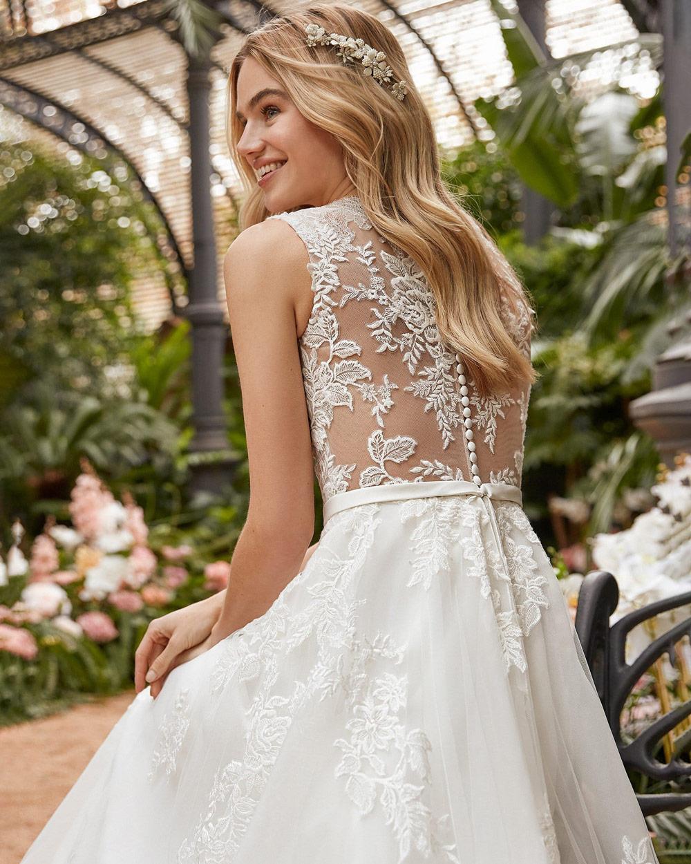 vestido de novia san patrick erica detalle