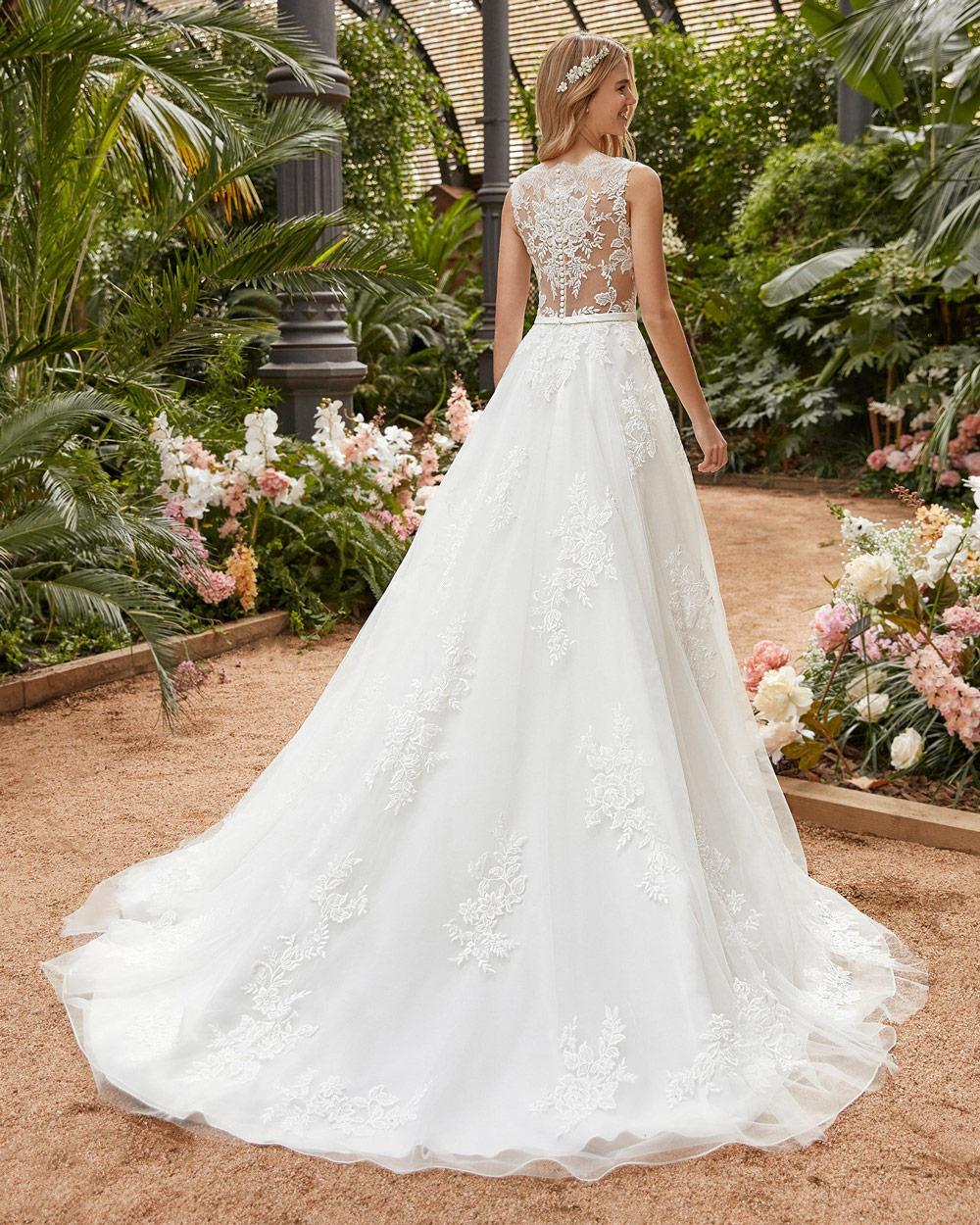 vestido de novia san patrick erica espalda