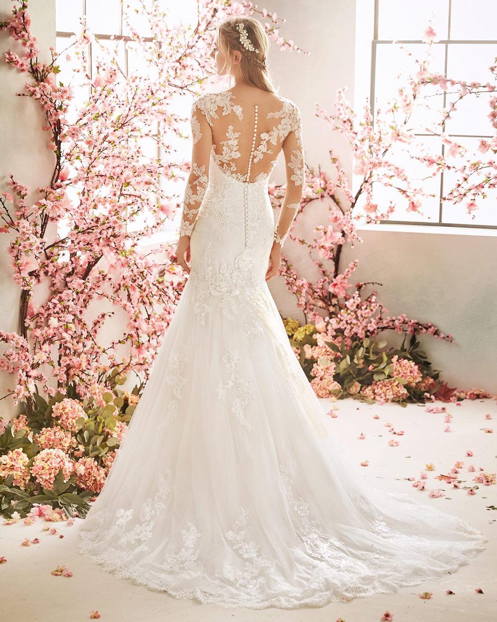 vestido de novia san patrick foxglove encaje