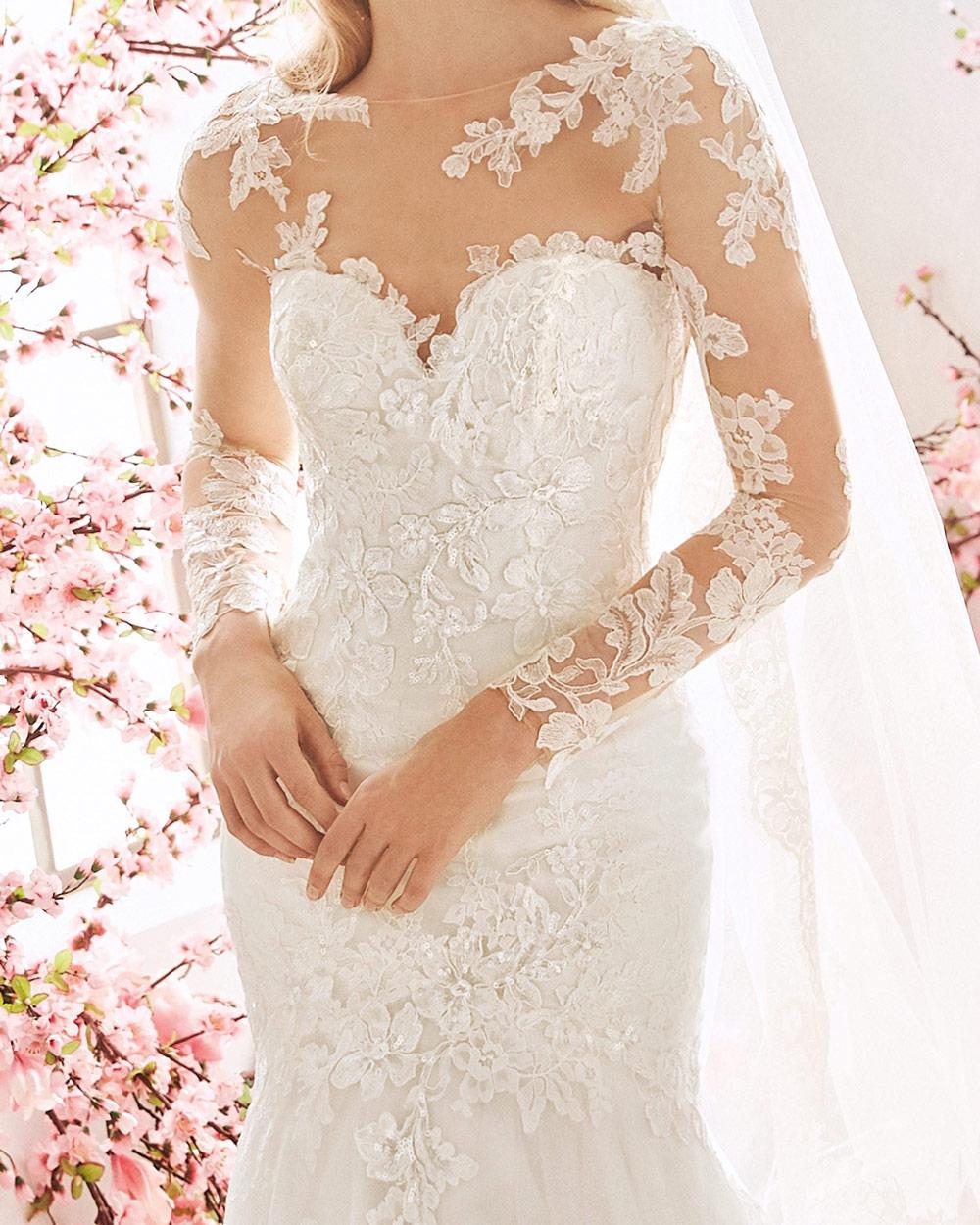 vestido de novia san patrick foxglove escote