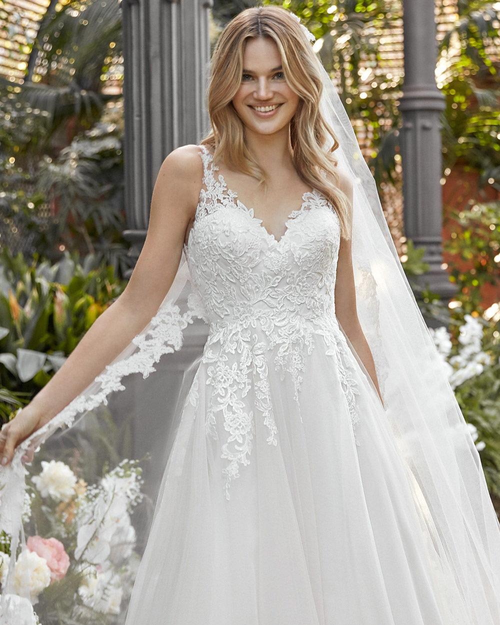 vestido de novia san patrick isabelia escote