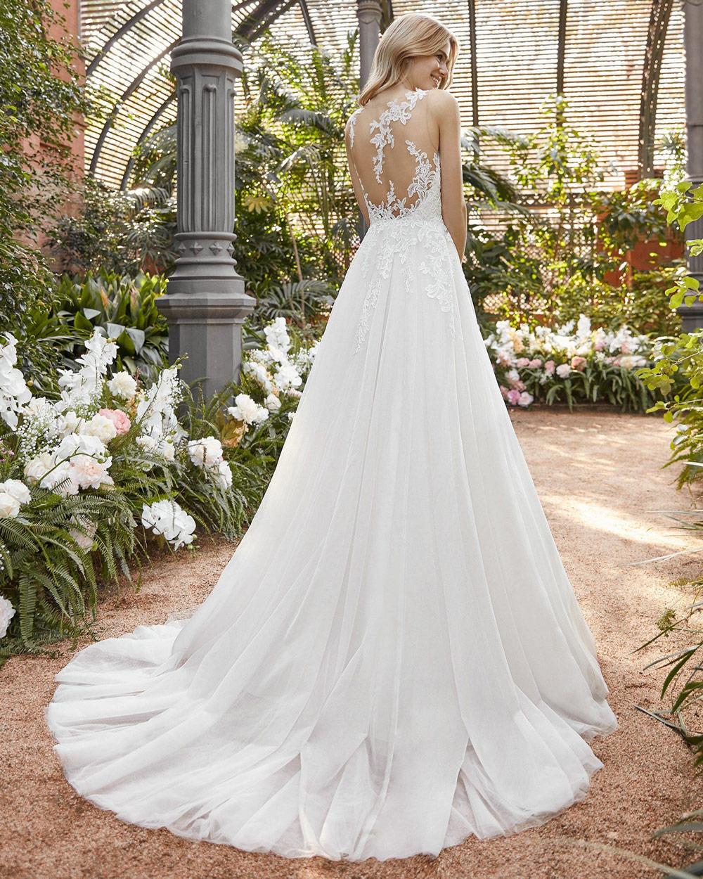 vestido de novia san patrick isabelia espalda