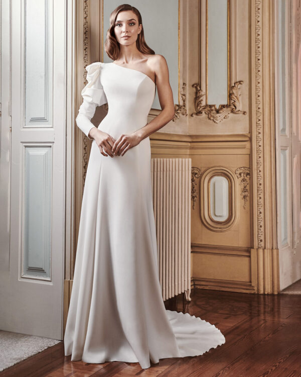 vestido de novia silvia fernandez LAURA