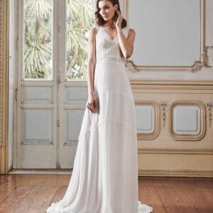 vestido de novia silvia fernandez LAVINIA