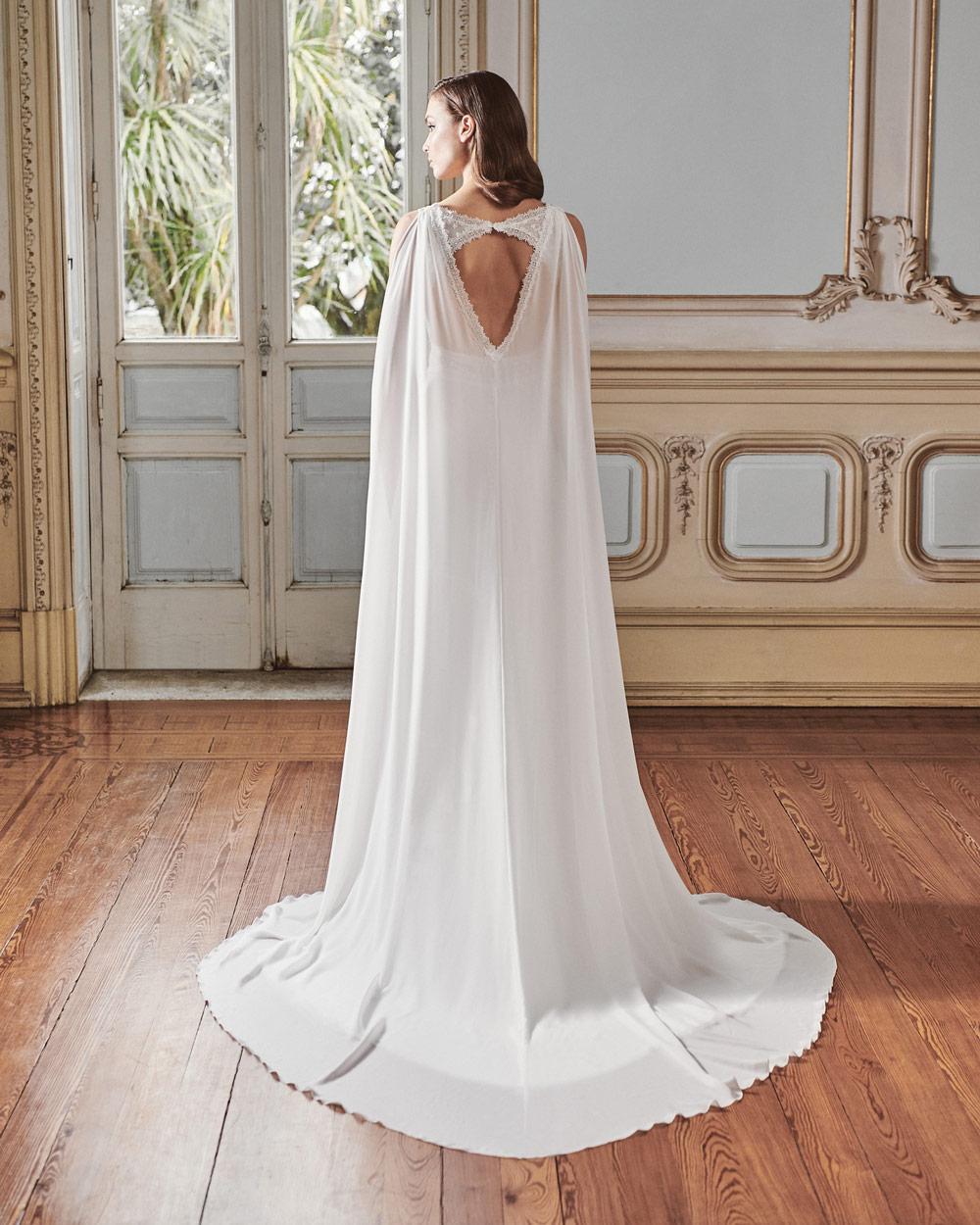 vestido de novia silvia fernandez LAVINIA capa