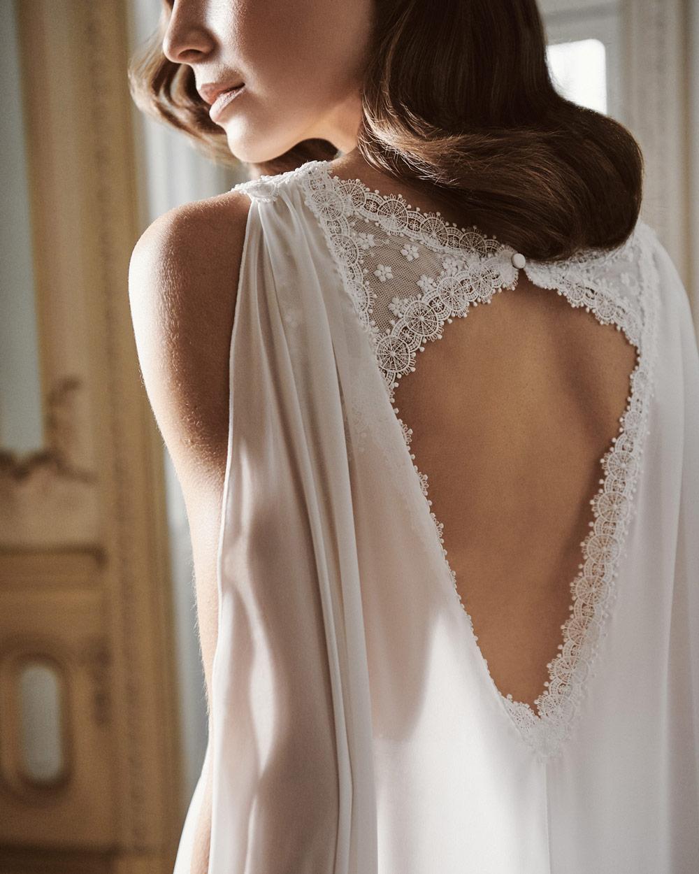vestido de novia silvia fernandez LAVINIA encaje