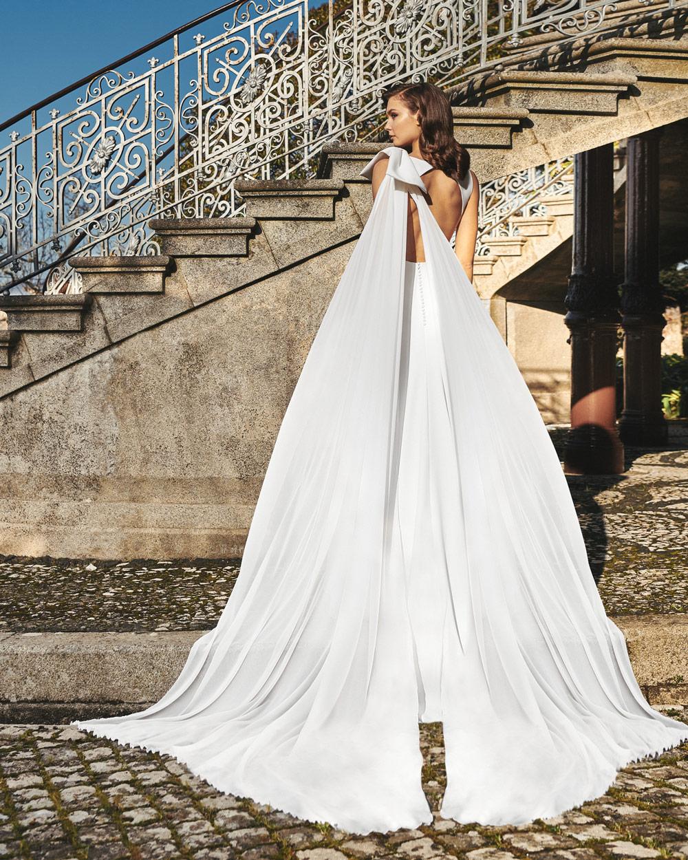 vestido de novia silvia fernandez LINA lazo