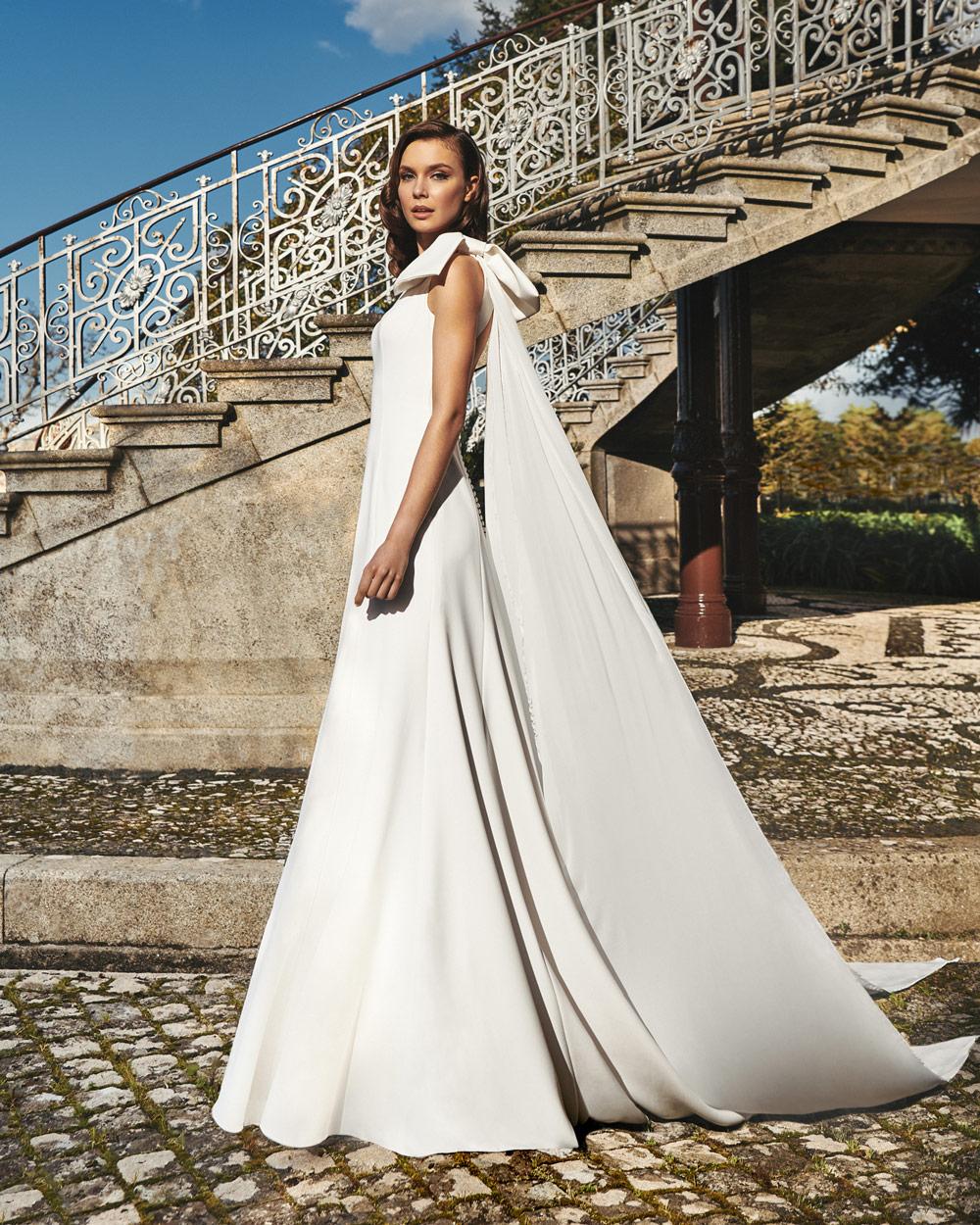 vestido de novia silvia fernandez LINA