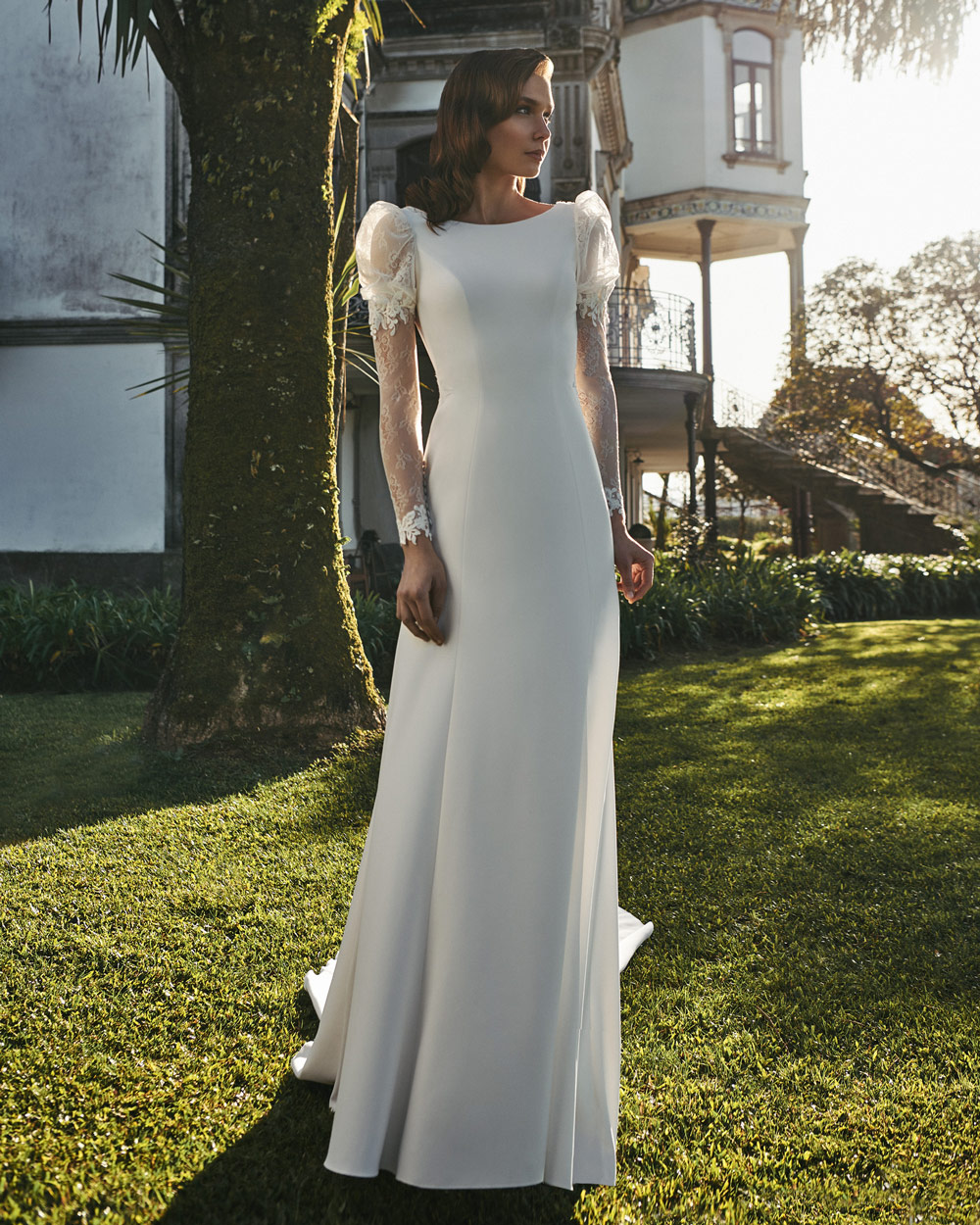 vestido de novia silvia fernandez LUA