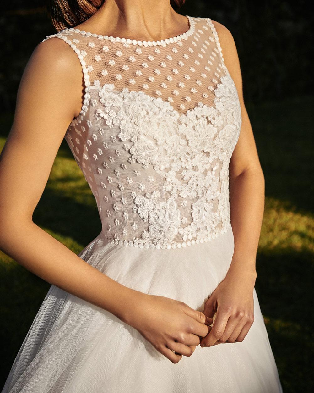 vestido de novia silvia fernandez LUCERNA encaje