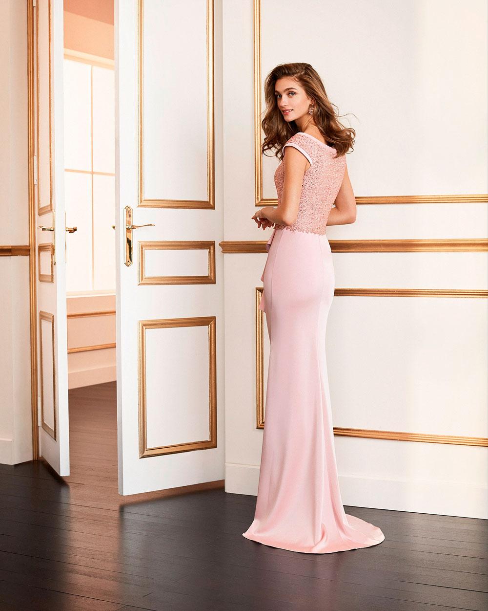 vestido de fiesta 2020 4J159 MARFIL BARCELONA 2