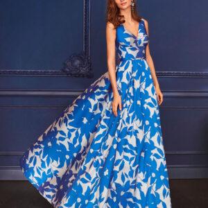 vestido de fiesta 2020 4J1A7 MARFIL BARCELONA 2