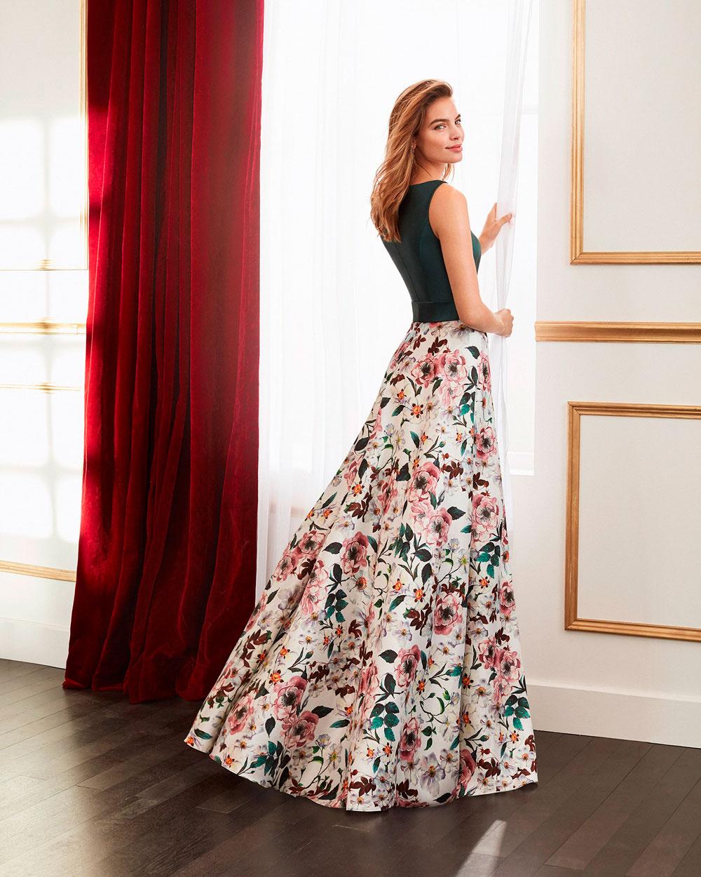 vestido de fiesta 2020 4J2D3 MARFIL BARCELONA 2