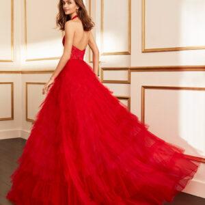 vestido de fiesta 2020 4J2F4 MARFIL BARCELONA 1