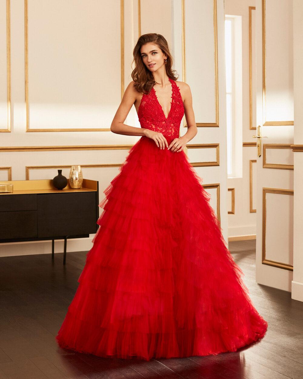 vestido de fiesta 2020 4J2F4 MARFIL BARCELONA 2