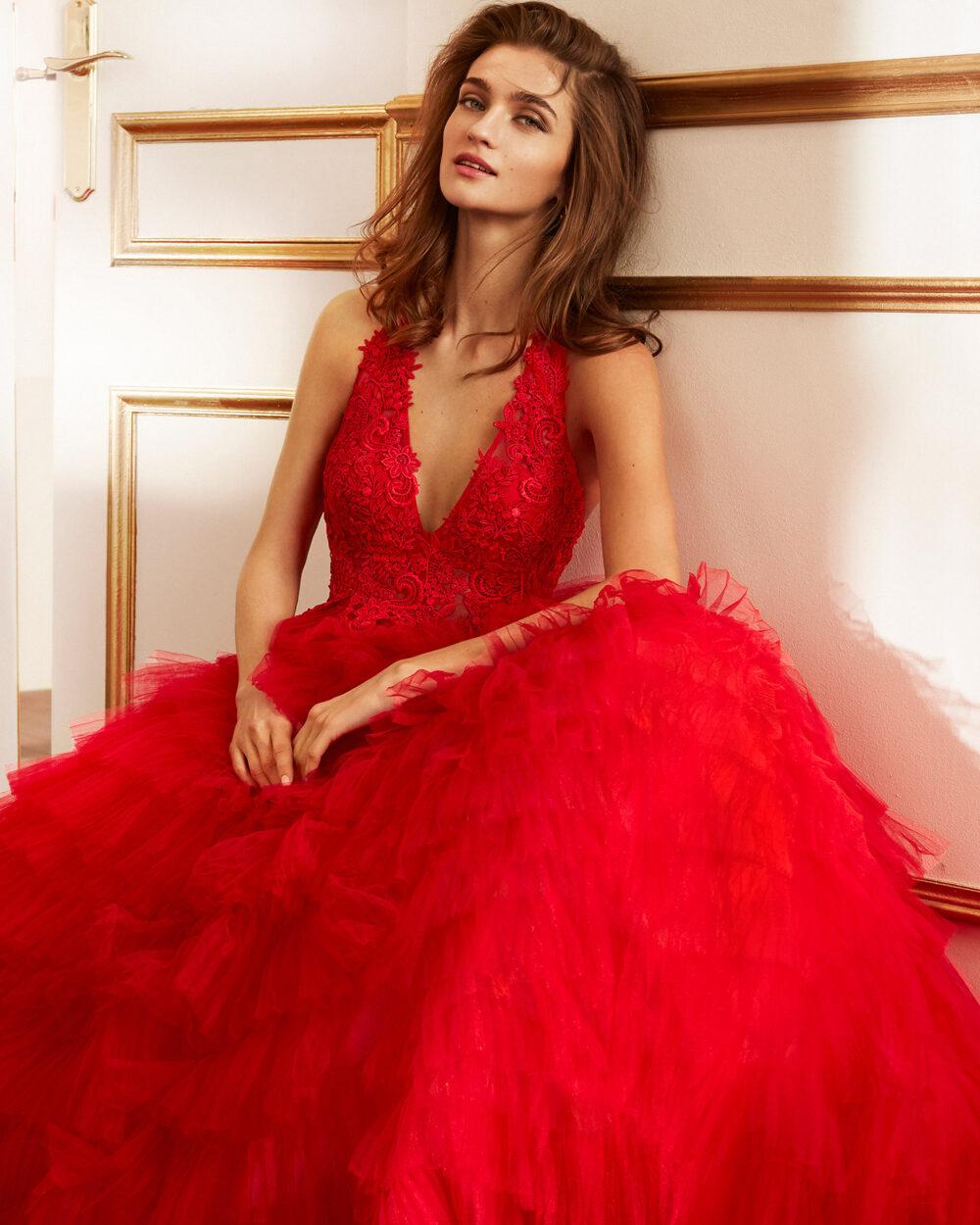 vestido de fiesta 2020 4J2F4 MARFIL BARCELONA 3
