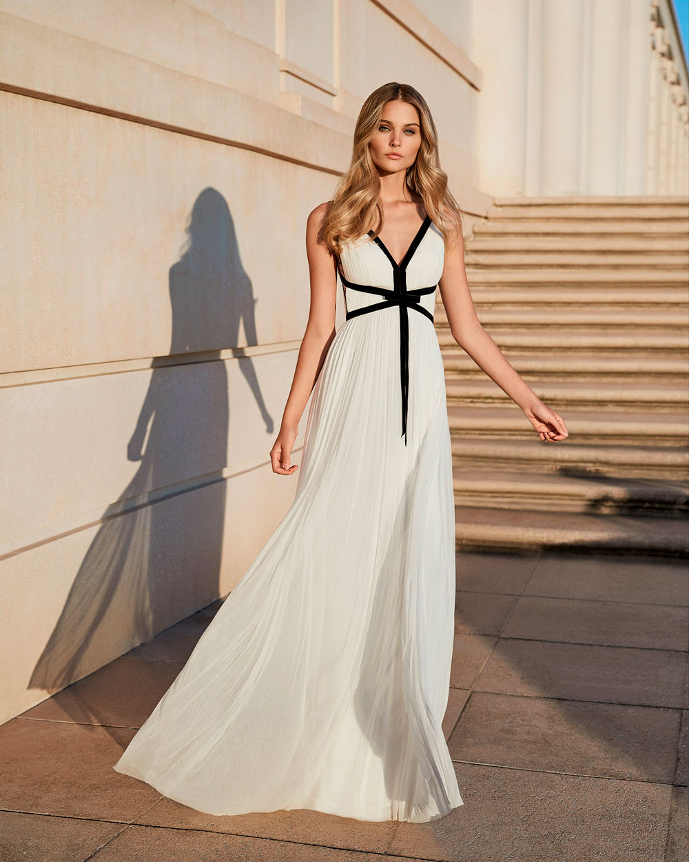 vestido de fiesta 2020 4T120 ROSA CLARA COCKTAIL 1