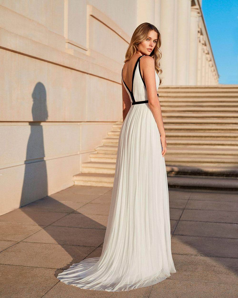 vestido de fiesta 2020 4T120 ROSA CLARA COCKTAIL 2