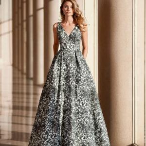 vestido de fiesta 2020 4T1D2 ROSA CLARA COCKTAIL 1
