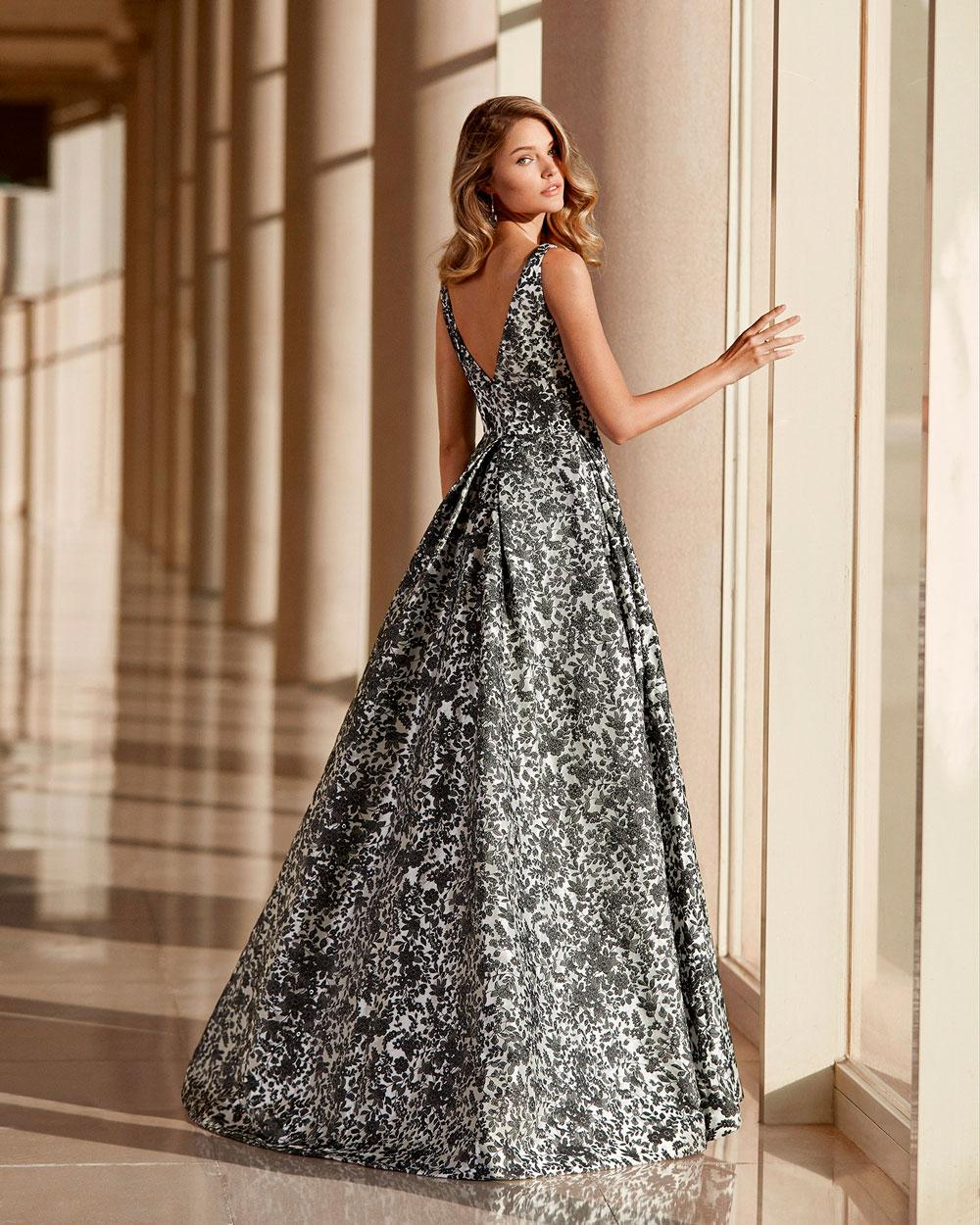vestido de fiesta 2020 4T1D2 ROSA CLARA COCKTAIL 2