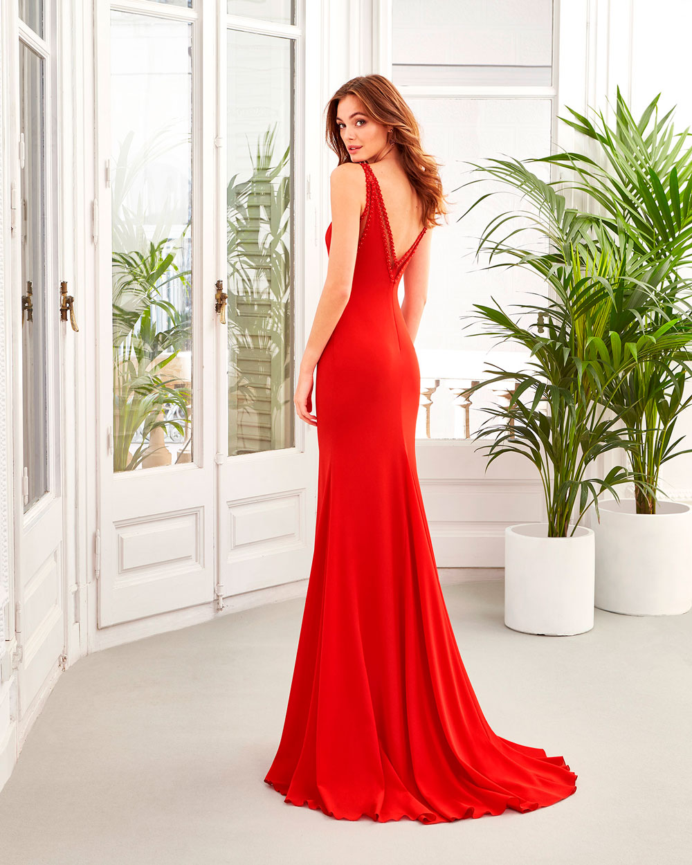 vestido de fiesta 2020 4U121 AIRE BARCELONA FIESTA 2