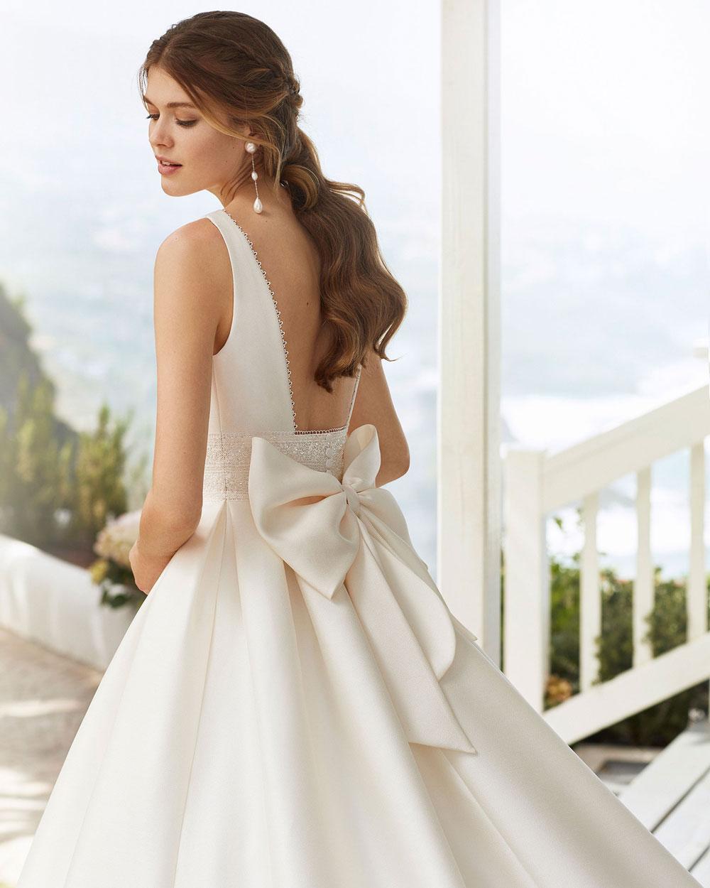 vestido de novia 2020 CABAK ROSA CLARA 2