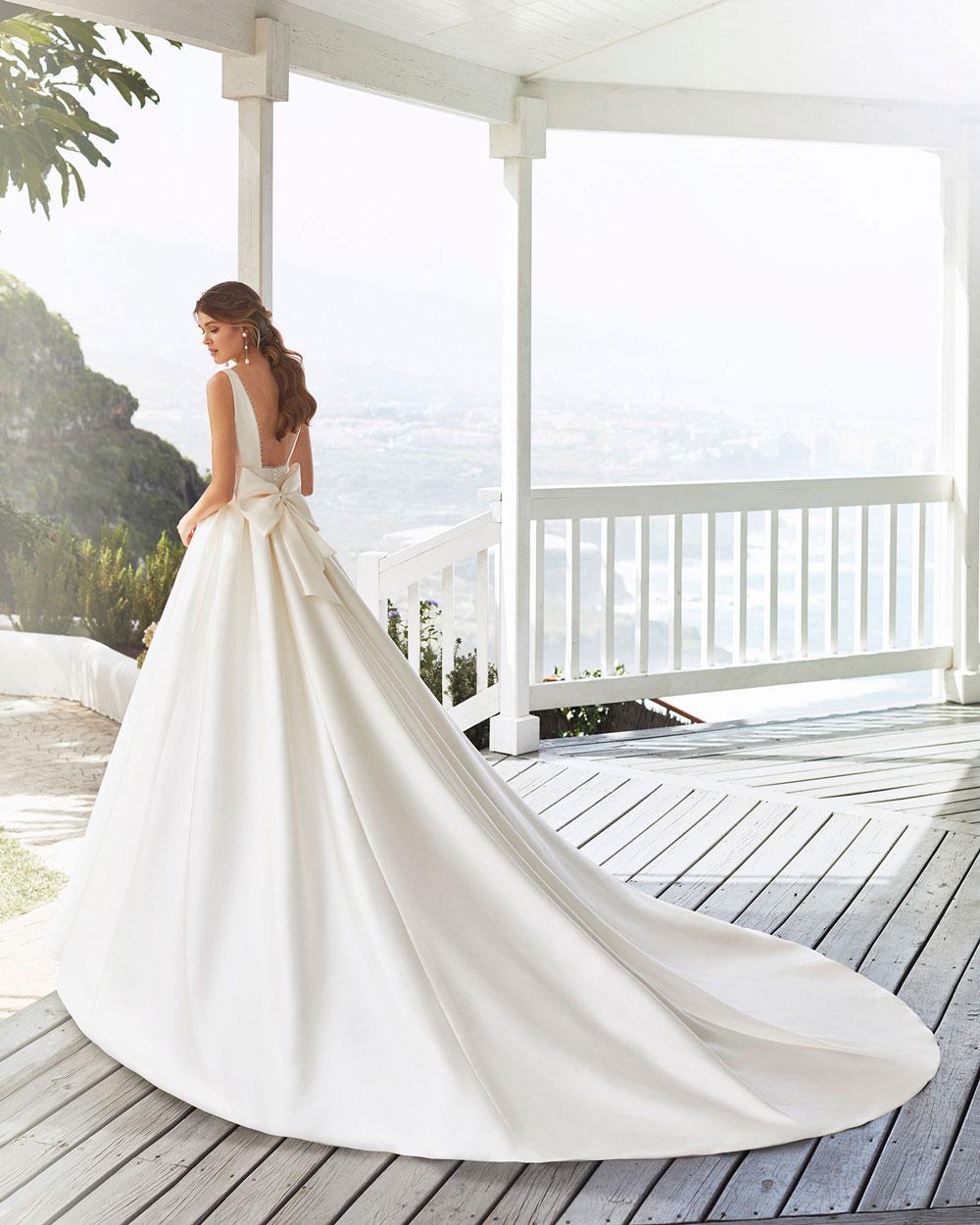 vestido de novia 2020 CABAK ROSA CLARA 3