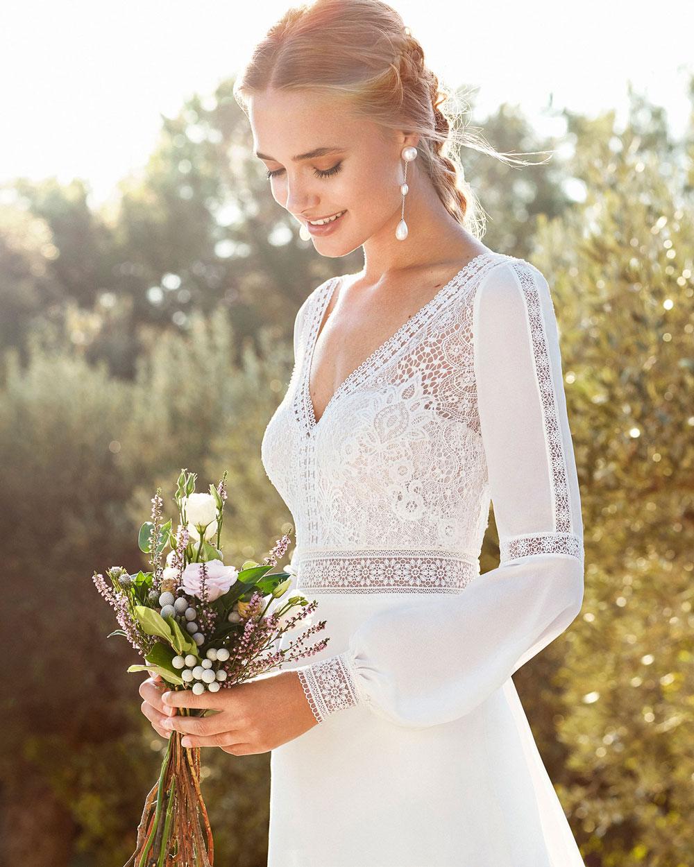 vestido de novia 2020 CAIMAD ROSA CLARA 1