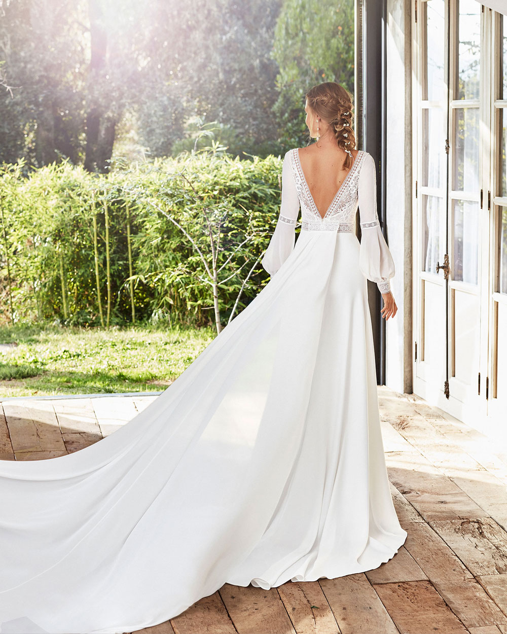 vestido de novia 2020 CAIMAD ROSA CLARA 2