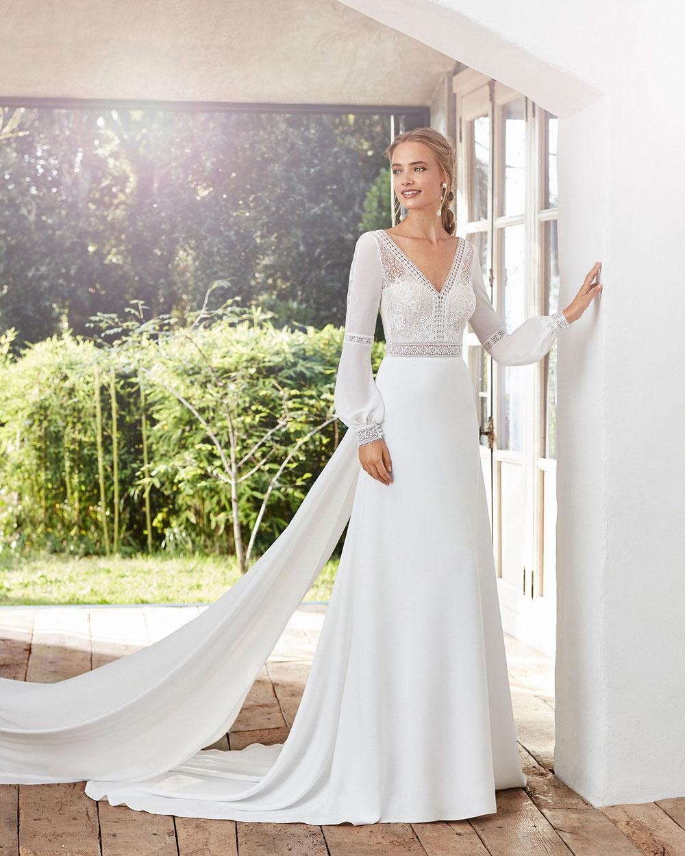 vestido de novia 2020 CAIMAD ROSA CLARA 3
