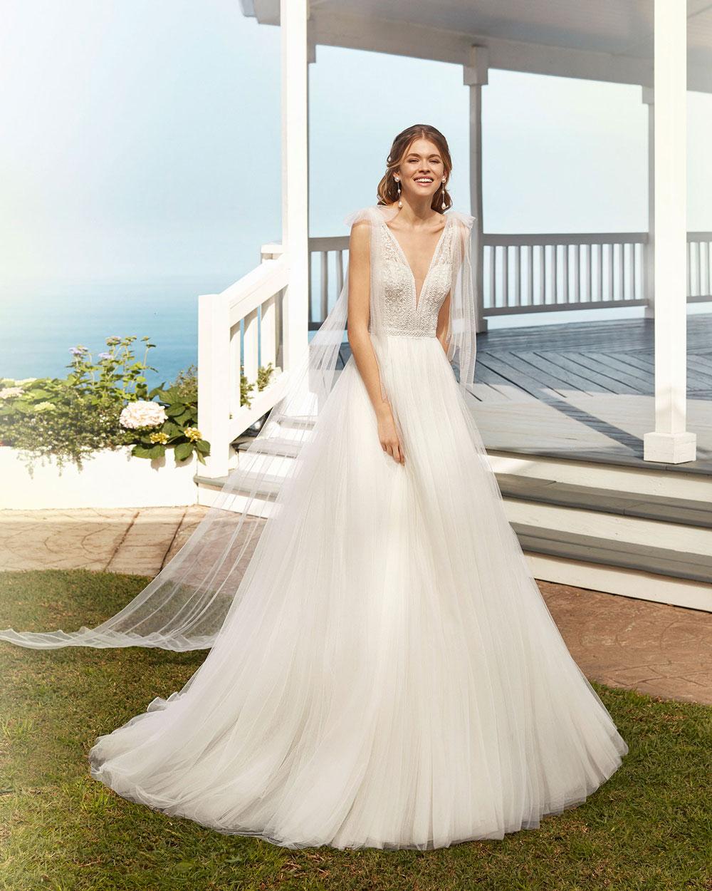 vestido de novia 2020 COROT ROSA CLARA 1