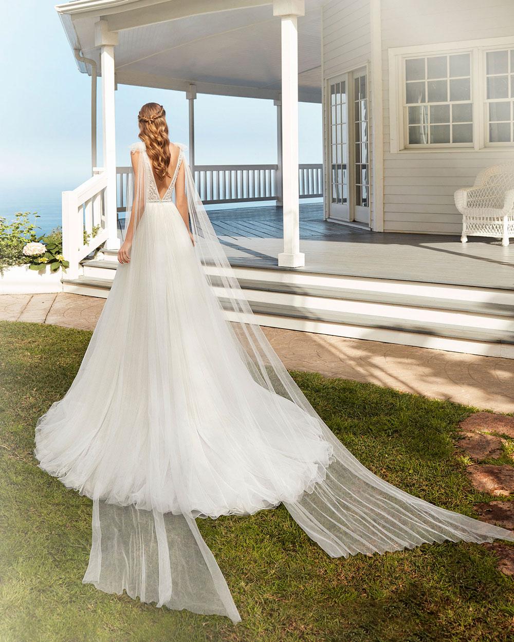 vestido de novia 2020 COROT ROSA CLARA 2