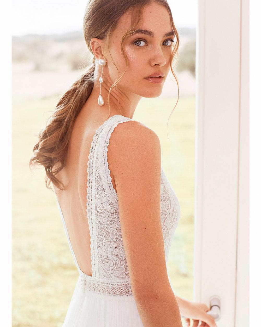 vestido de novia 2021 AREZZO ROSA CLARA BOHEME 3