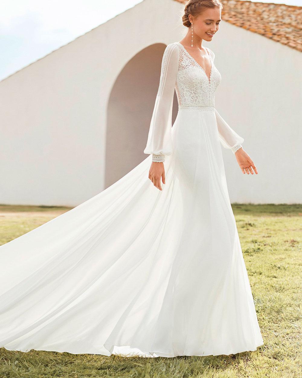vestido de novia 2021 AMAPOLA ROSA CLARA BOHEME 1