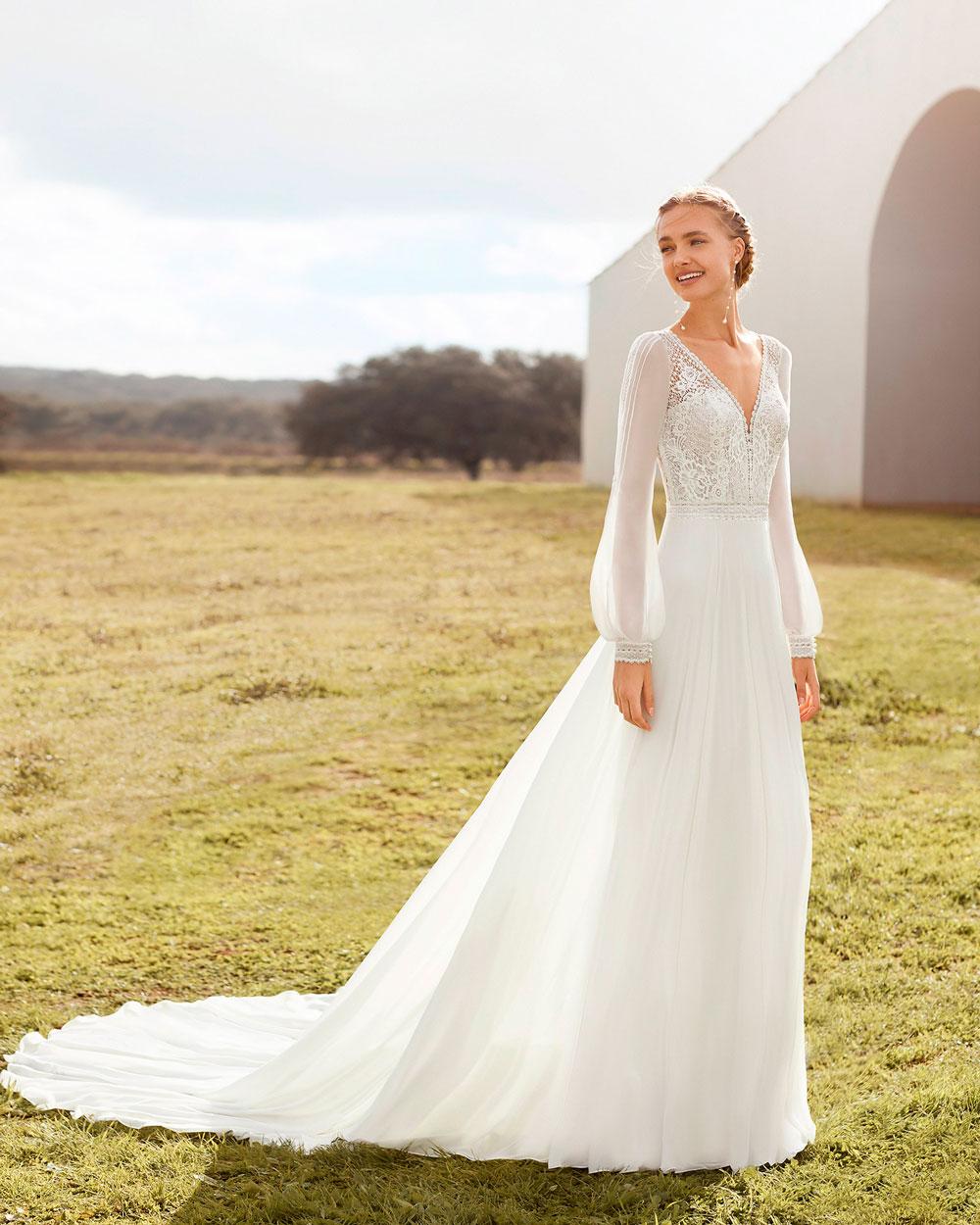 vestido de novia 2021 AMAPOLA ROSA CLARA BOHEME 3