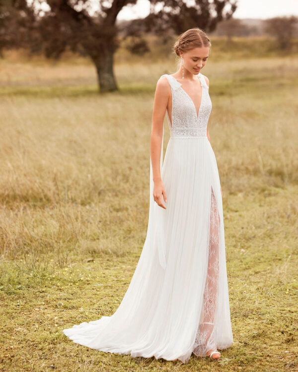 vestido de novia 2021 ANILLO ROSA CLARA BOHEME 1