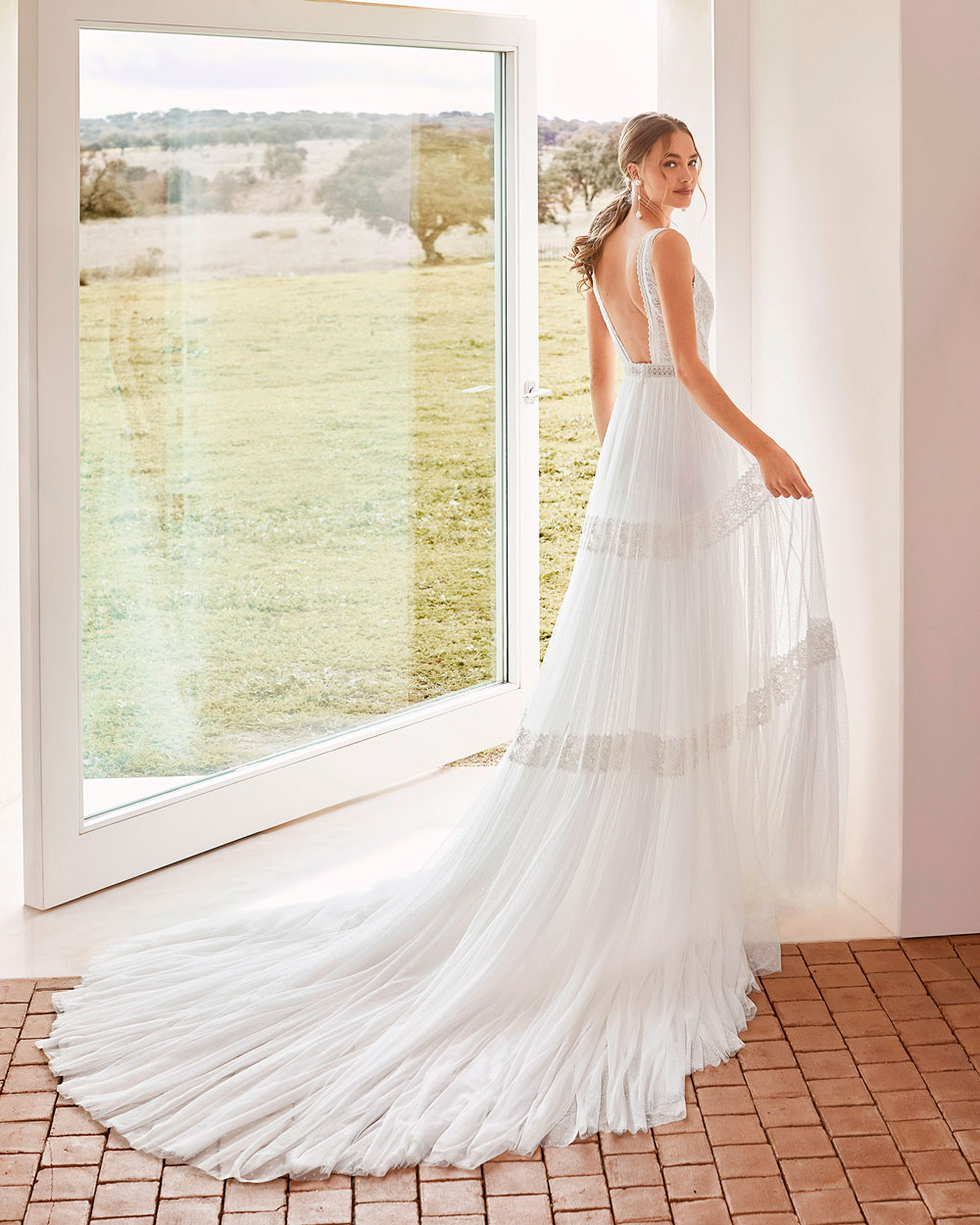 vestido de novia 2021 AREZZO ROSA CLARA BOHEME 1