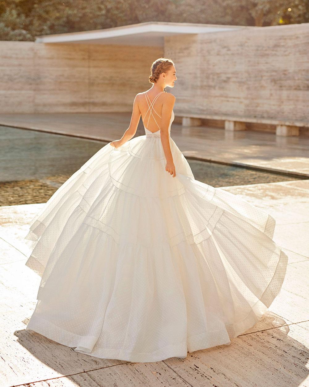 vestido de novia 2021 ELISENDA ROSA CLARA COUTURE 1