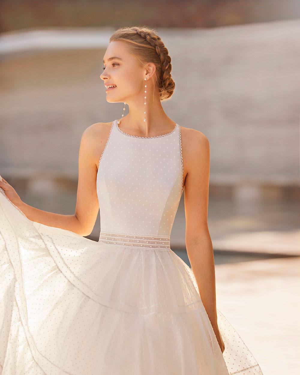 vestido de novia 2021 ELISENDA ROSA CLARA COUTURE 2