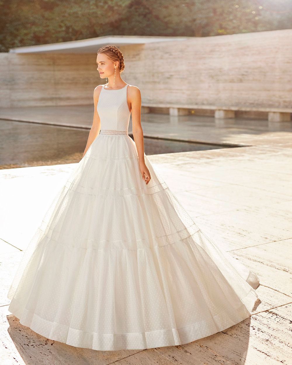 vestido de novia 2021 ELISENDA ROSA CLARA COUTURE 3