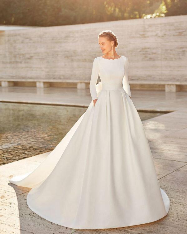 vestido de novia 2021 EMAL ROSA CLARA COUTURE 1