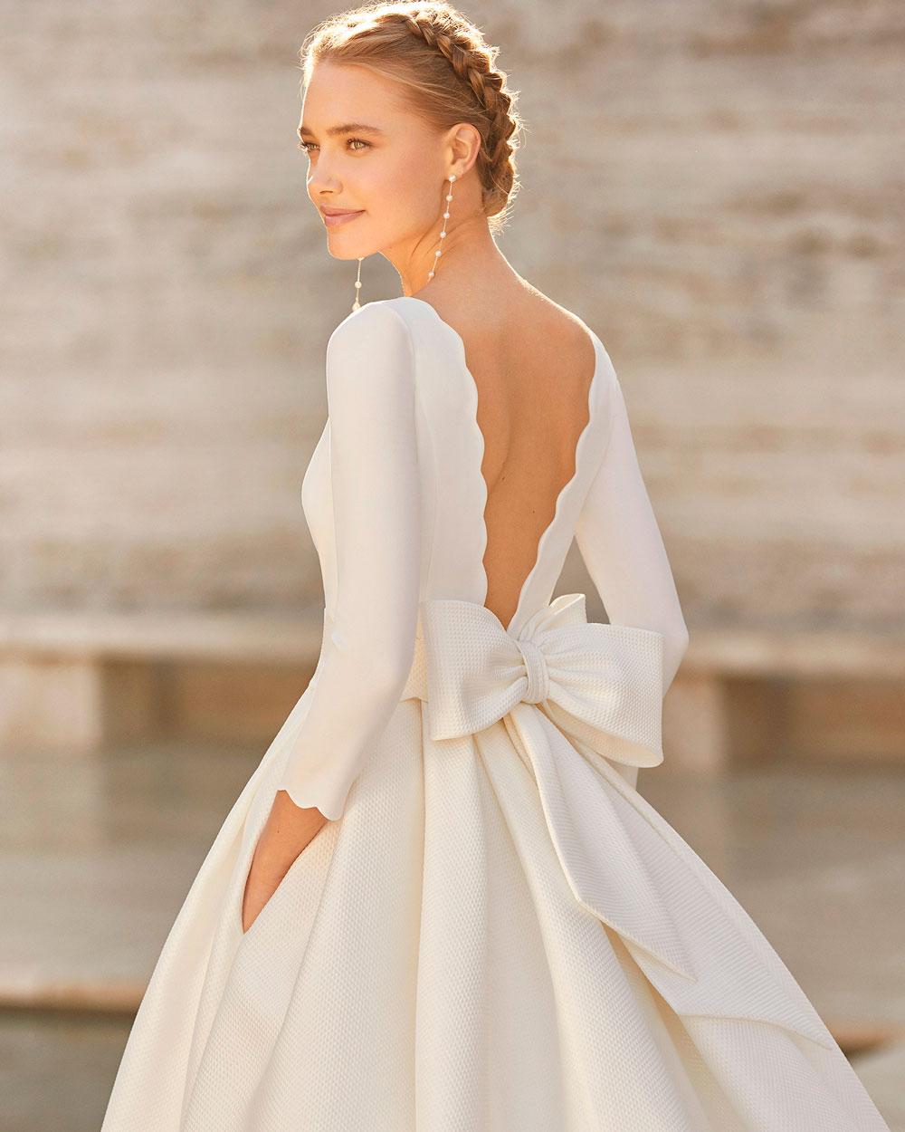 vestido de novia 2021 EMAL ROSA CLARA COUTURE 2