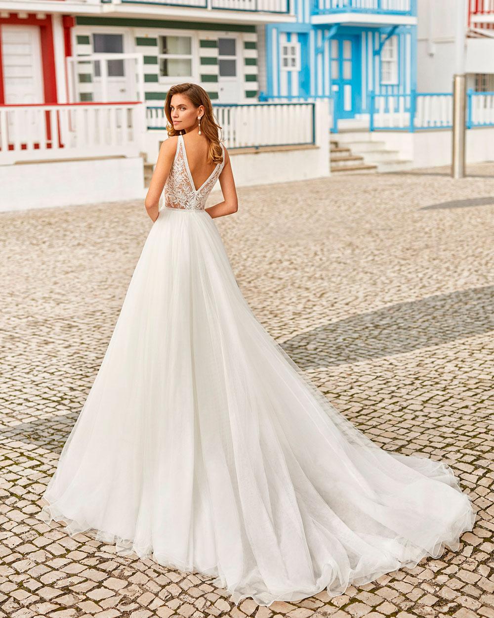 vestido de novia 2021 HANIEL ROSA CLARA SOFT 3
